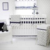 Out of the Blue Crib Bedding by My Baby Sam