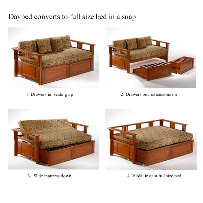 Rosebud Daybed shown in white finish Thumbnail 8