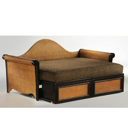 Rosebud Daybed shown in white finish Thumbnail 7