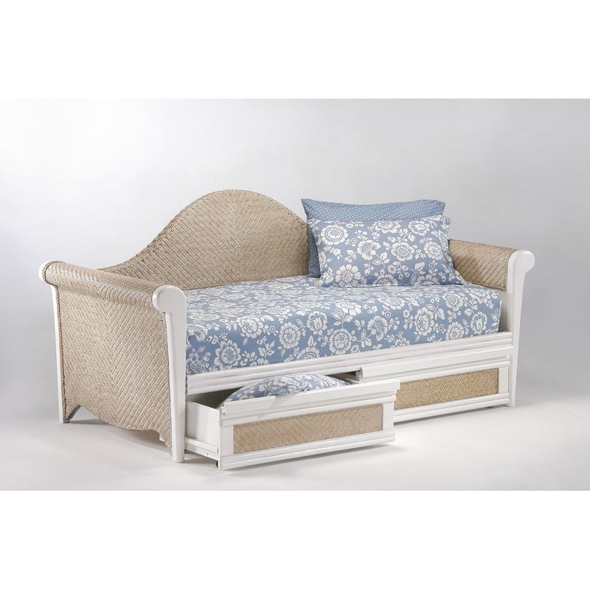 Rosebud Daybed shown in white finish Thumbnail 3