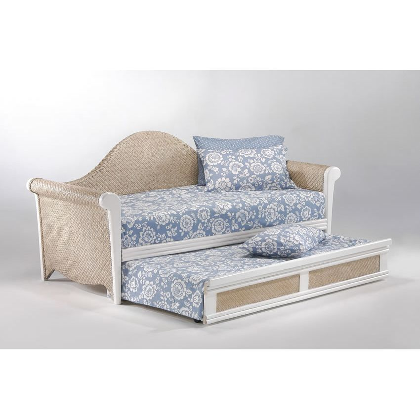 Rosebud Daybed shown in white finish Thumbnail 2
