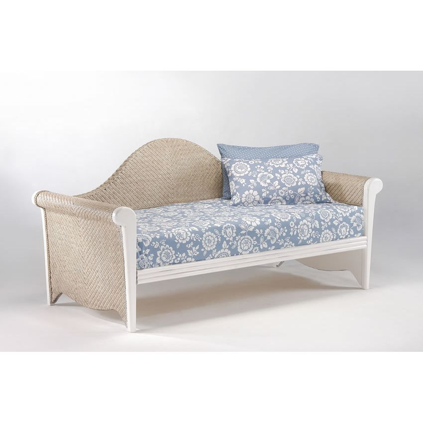 Rosebud Daybed shown in white finish Thumbnail 1