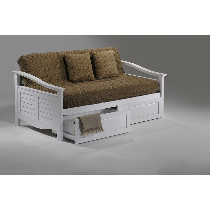 Seagull Daybed shown in white finish Thumbnail 4