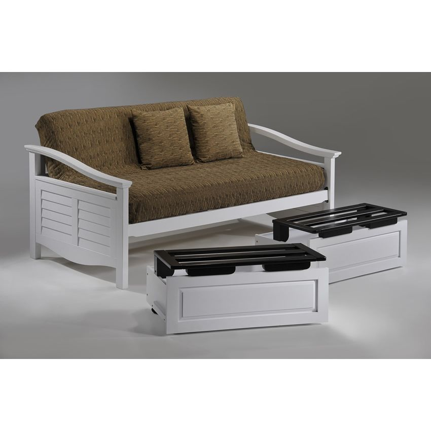 Seagull Daybed shown in white finish Thumbnail 3