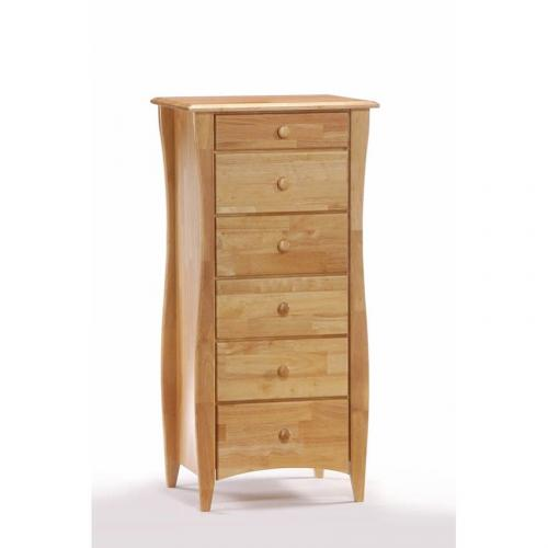 Clove Lingerie Chest shown in natural finish