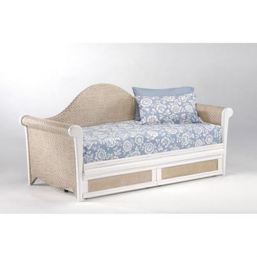Rosebud Daybed shown in white finish Thumbnail