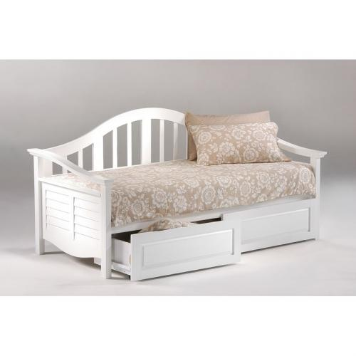 seagull daybed shown in white finish. Black Bedroom Furniture Sets. Home Design Ideas