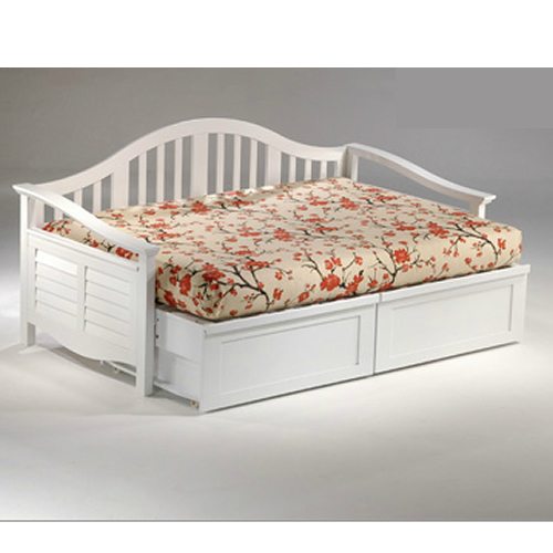 Rosebud Daybed shown in white finish Thumbnail 6
