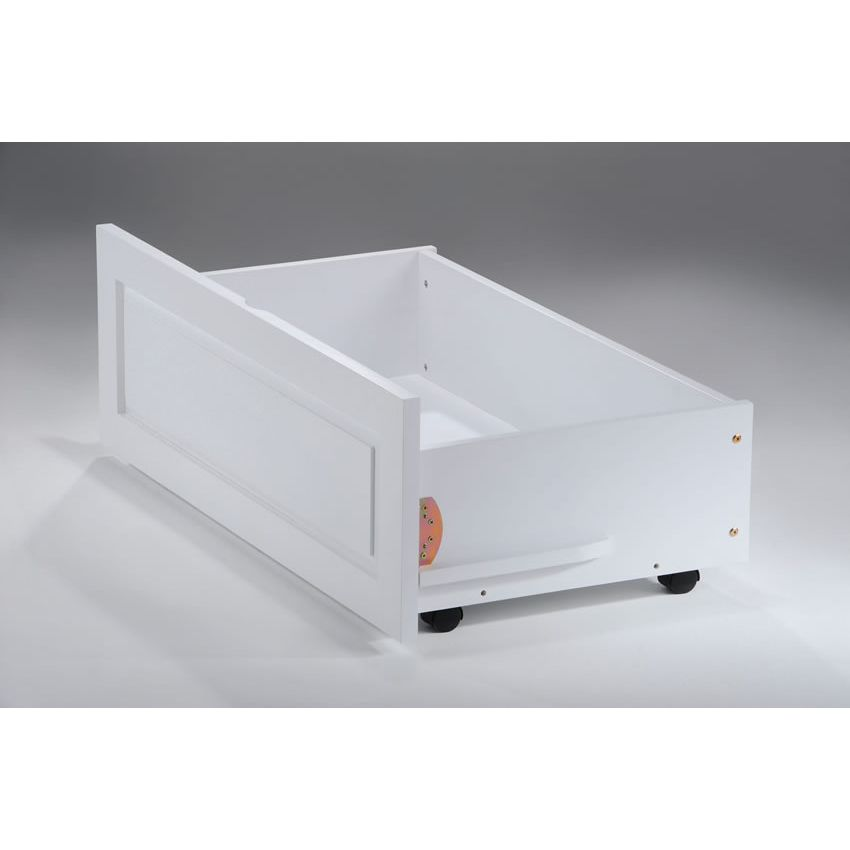 Rosebud Daybed shown in white finish Thumbnail 4