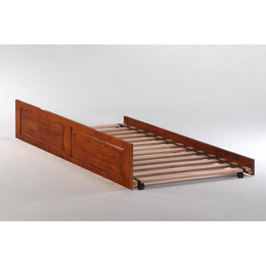 Full Butterscotch Bookcase Bed shown in cherry finish (D) Thumbnail 2