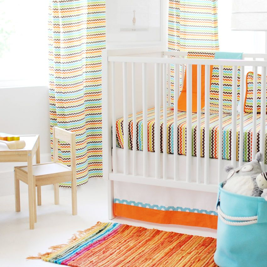 Strawberry Fields Crib Bedding Set by New Arrivals Thumbnail 1