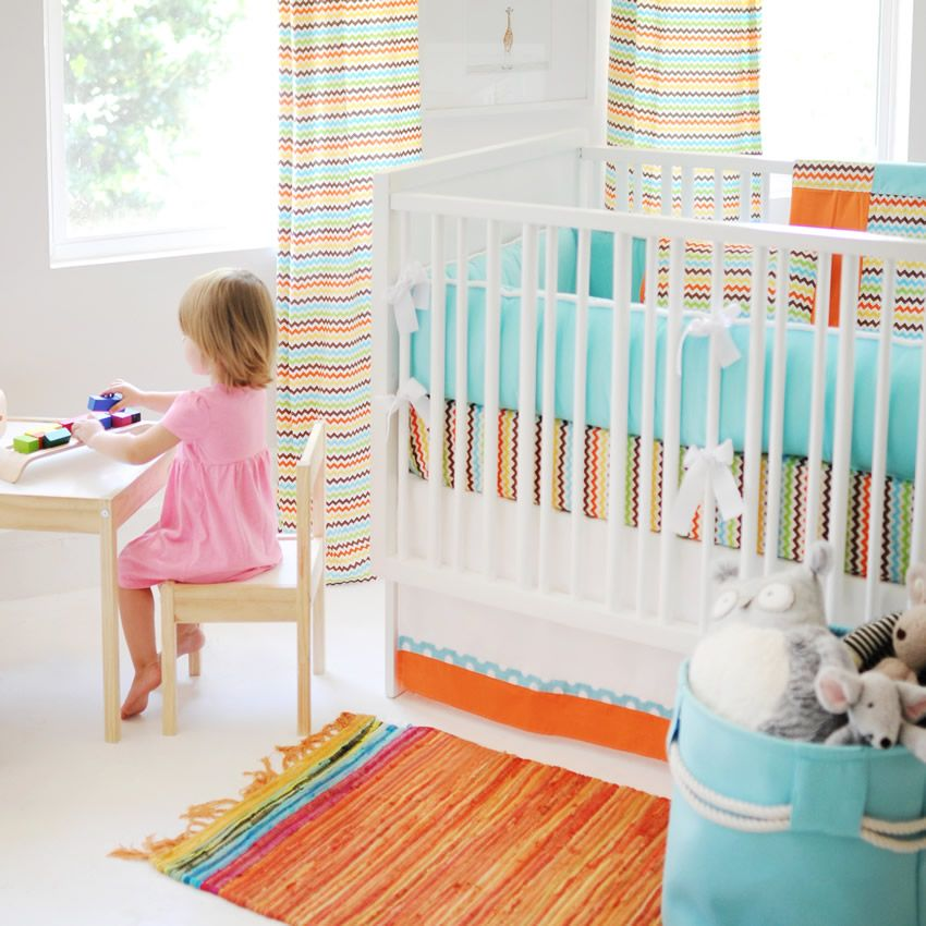 Strawberry Fields Crib Bedding Set by New Arrivals Thumbnail 2