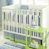 Boardwalk Crib Bedding Set by New Arrivals