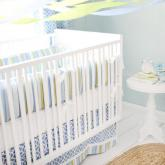 By The Bay Baby Crib Bedding Set by New Arrivals