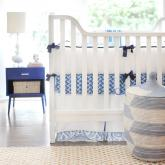 Cobalt Moon Crib Bedding Set by New Arrivals