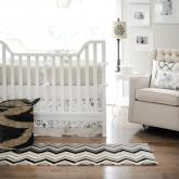 Penelope in Wheat Crib Bedding Set by New Arrivals