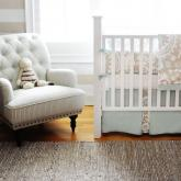 Picket Fences Crib Bedding Set by New Arrivals