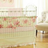 Roses for Bella Crib Bedding Set by New Arrivals