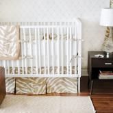 Safari in Sand Crib Bedding Set by New Arrivals
