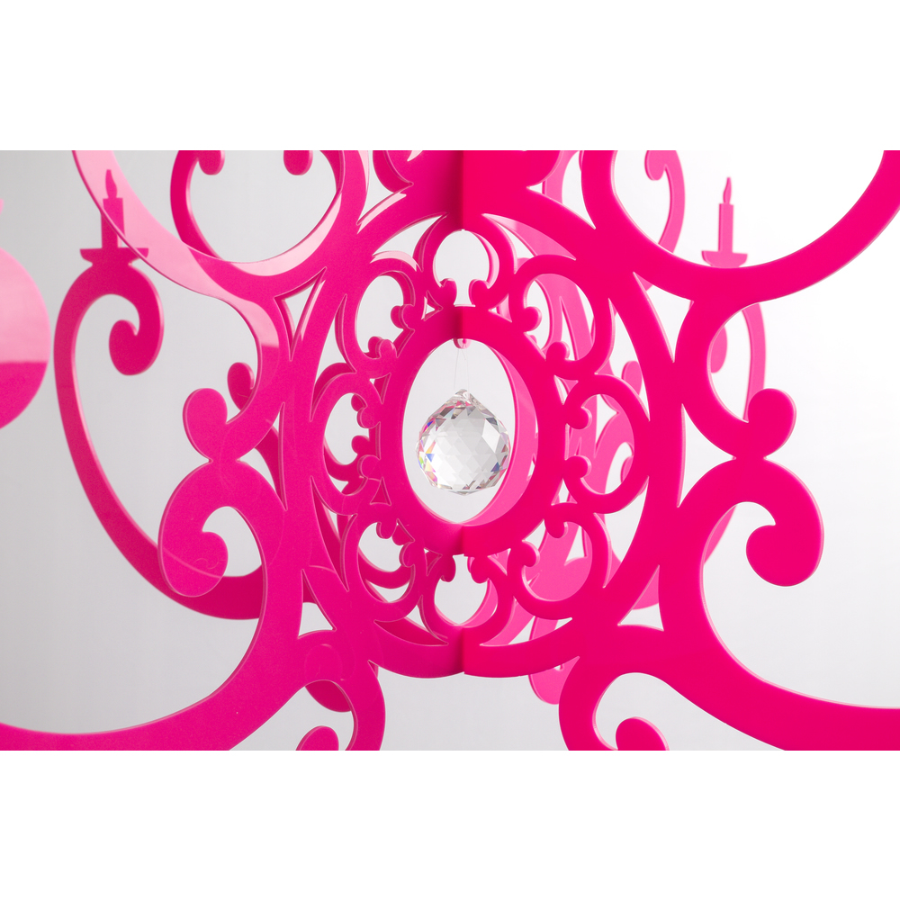 Fancy Hot Pink Chandelier Mobile:... Fancy Hot Pink Chandelier Mobile Thumbnail 8 ...,Lighting