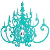 Fancy Turquoise Chandelier Mobile