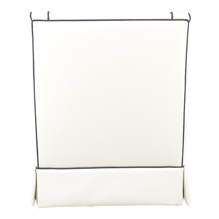Cohen Glider in White Faux Leather by Oilo Thumbnail 4