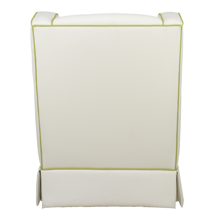 Penelope Glider in Faux White Leather by Oilo Thumbnail 4