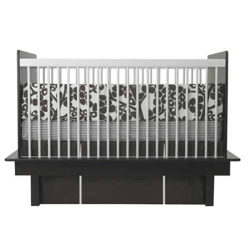 Modern Berries 3-Piece Crib Set in Brown by Oilo Thumbnail