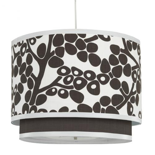 Modern Berries Double Pendant Light in Brown by Oilo