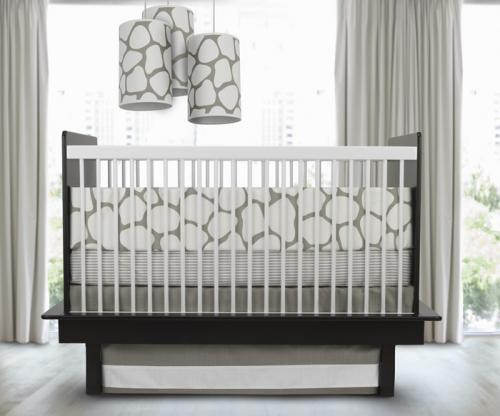 Cobblestone 3-Piece Crib Set in Taupe by Oilo Thumbnail