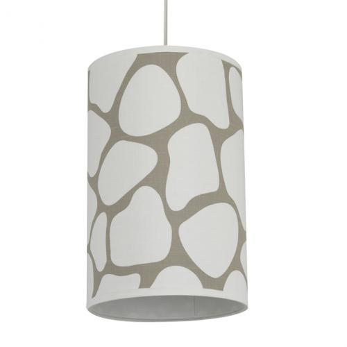 Cobblestone Pendant Light in Taupe by Oilo
