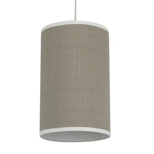 Taupe Cylinder Light by Oilo