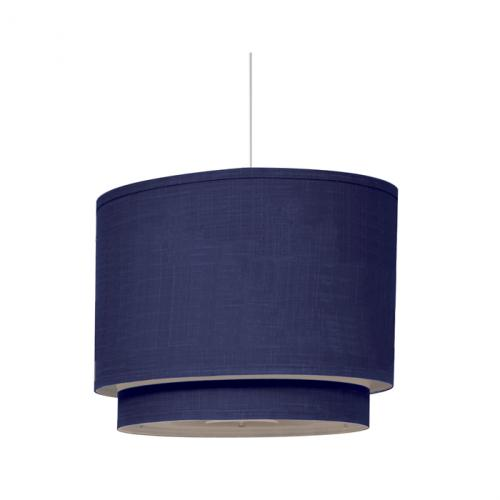 Cobalt Blue Double Cylinder Light by Oilo