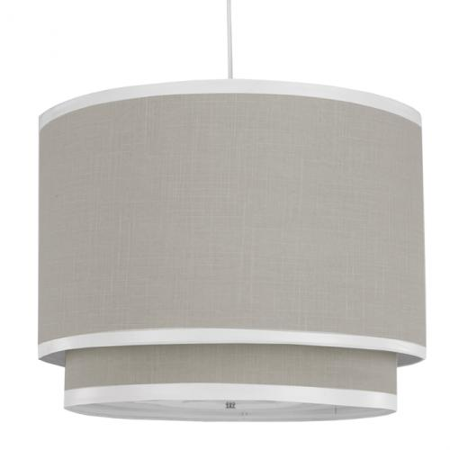 Taupe Double Pendant Light by Oilo
