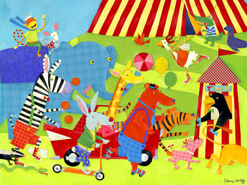 Traveling Circus by Oopsy daisy Thumbnail 1