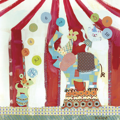 Big Top Counting Circus by Oopsy daisy