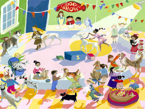 Dog Show by Oopsy daisy