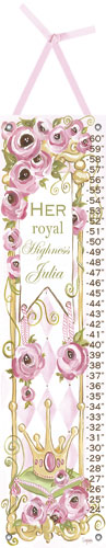 Her Royal Highness Growth Chart by Oopsy daisy