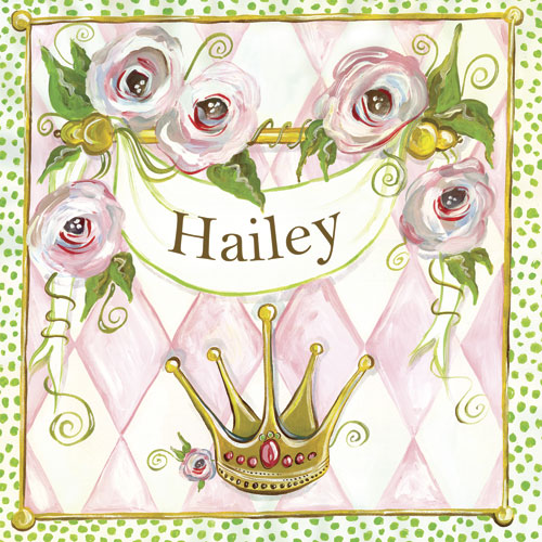 Personalized Princess by Oopsy daisy