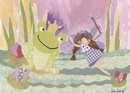 The Fairy and the Frog by Oopsy daisy