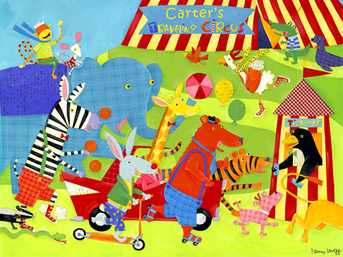Traveling Circus by Oopsy daisy Thumbnail