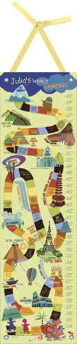 World Wonders Growth Chart by Oopsy daisy