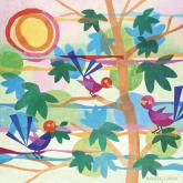 Summertime with Birds by Oopsy daisy
