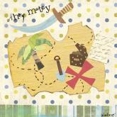 X Marks the Spot Treasure Map by Oopsy daisy