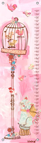 Curious Kitty Growth Chart by Oopsy daisy Thumbnail 1