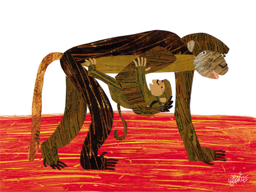 Oopsy daisy Monkey Mother by Eric Carle