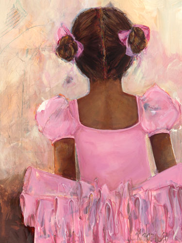Perfect Ballerina African American By Oopsy Daisy