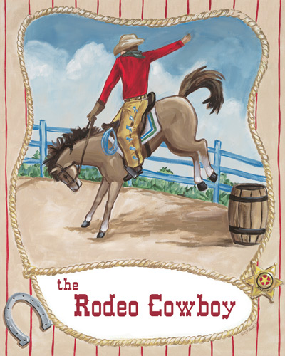 Rodeo Cowboy by Oopsy daisy Thumbnail 1