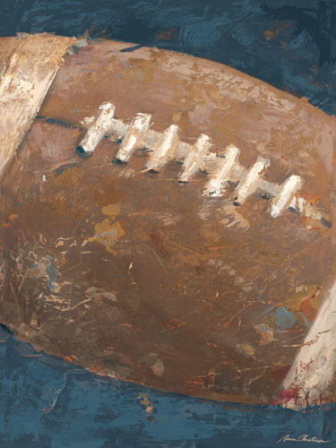 Vintage Football Blue By Oopsy Daisy