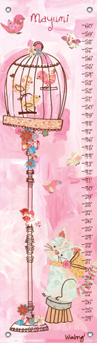 Curious Kitty Growth Chart by Oopsy daisy Thumbnail